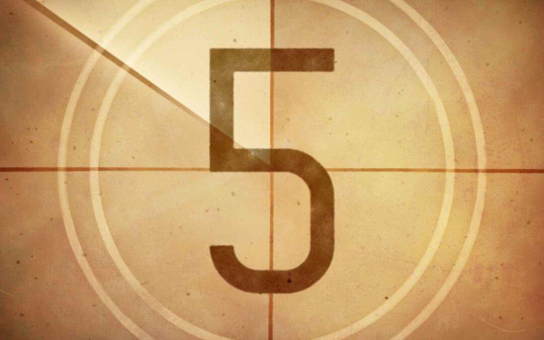 Vijf keer